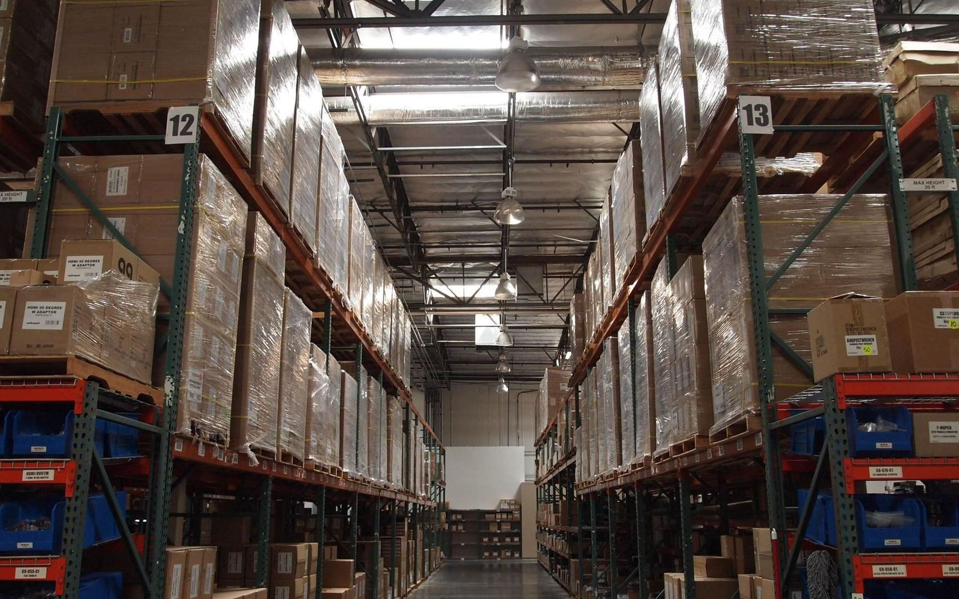 Warehousing in customs and local warehouse